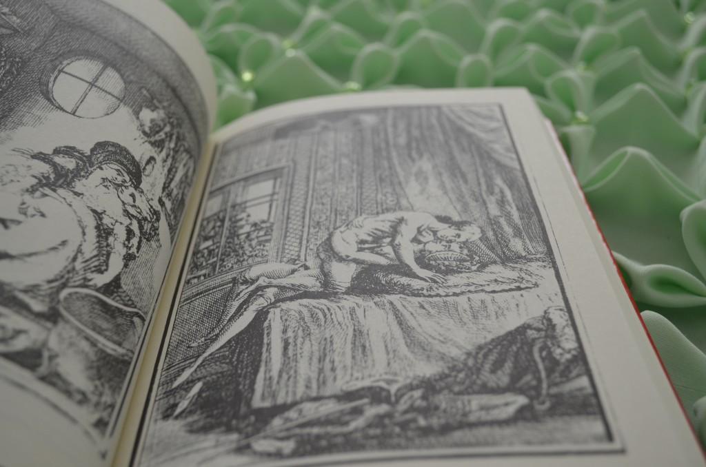 Uma das ilustrações de Fanny Hill ou Memórias de uma Mulher de Prazer